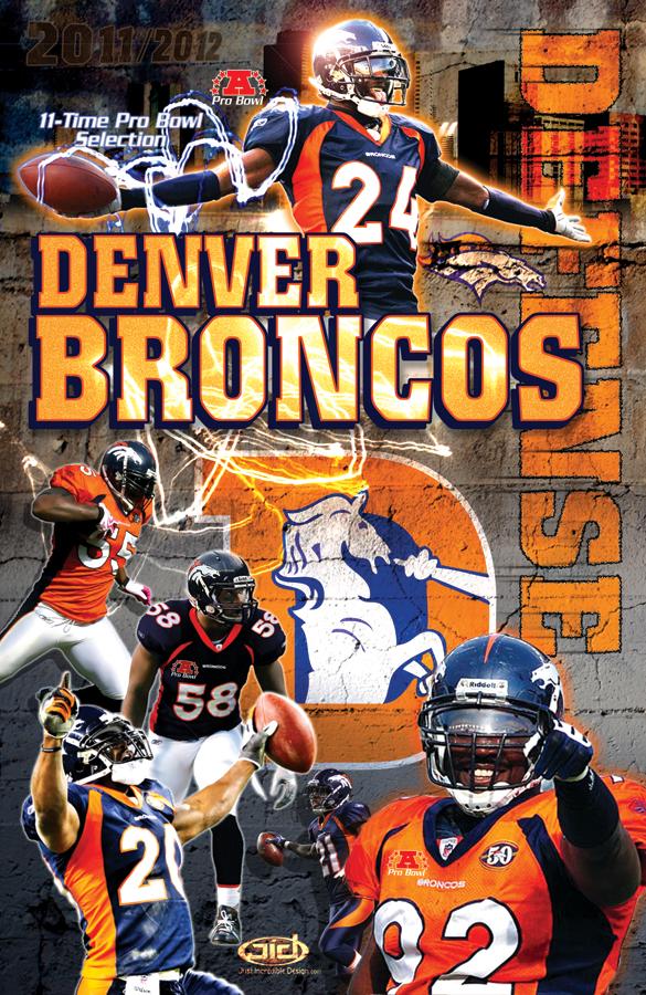 Denver Broncos Defense poster
