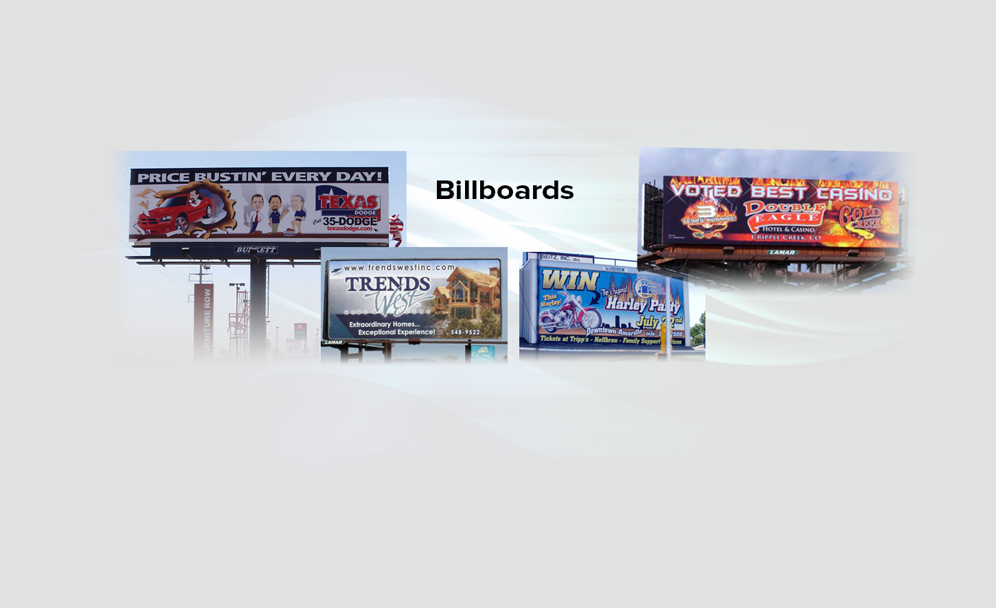 Billboards, Outdoor & Vehicle Wraps